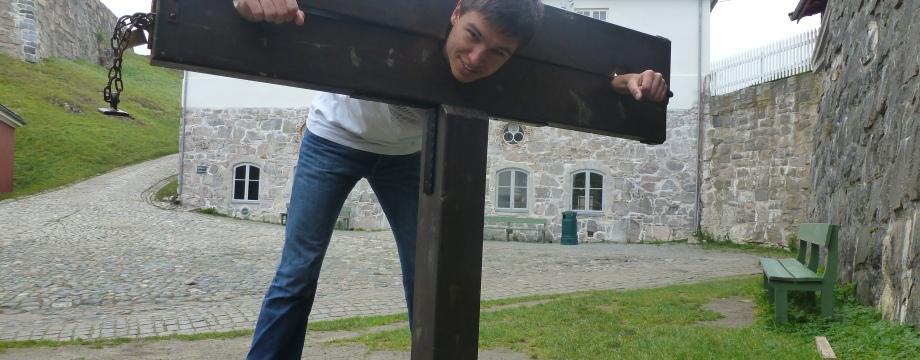 in der Festung Fredriksten bei Halden im Herbst 2011